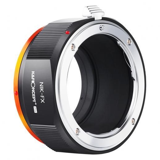 Adaptador Lentes Nikon NIK(AI) para corpo Fuji FX. PRO - Mod. M11115 (2020)