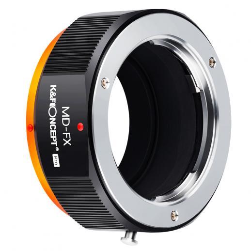 Bague d'adaptation d'objectif de haute précision KF M15115, revêtue de peinture mate, orange d'oxydation secondaire, MD-FX PRO