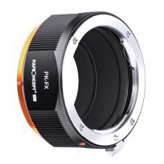 KF M17115 adapter med hög precision adapter, belagd med matt färg, sekundär oxidationsorange, PK-FX