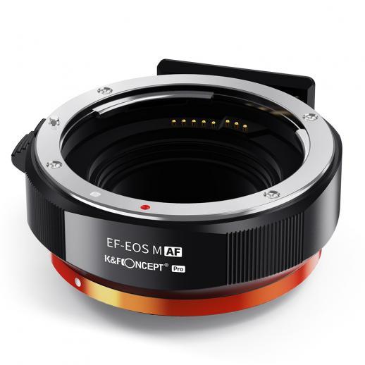 Canon EF/EF-S auf EOS M-Bajonett, Metalldosen-Autofokus