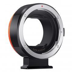 Attacco Canon da EF/EF-S a EOS R, possibilità di messa a fuoco automatica in metallo