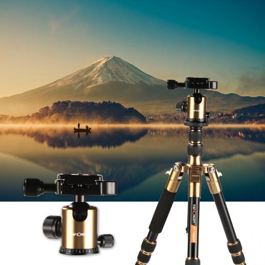 TM2235 Ministativ Kamera Stativ Kugelkopf