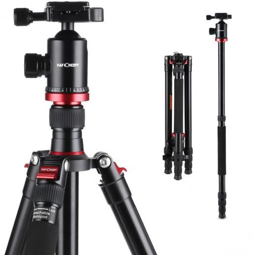 """Tripé de alumínio TM2834 Monopod 65,59 """"para a fotografia profissional da câmera de DSLR"""