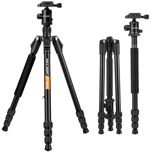 TM2534 Tripé de Câmera DSLR 65inch para Canon, Nikon Fotografia Viagem