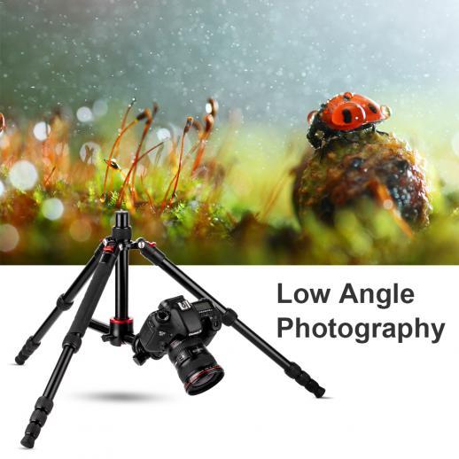 TM2515T DSLR Camera Tripod Monopod Kit 60inch fit Canon, Nikon Professional Photography