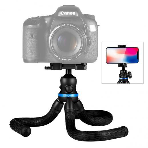 Mini flexibel statief voor mobiel, camera, video