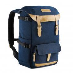 V11 Multi-Functional Kamerarucksack mit Regenschutzhülle Blau für Reisen im Freien Fotografie - 16L
