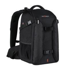 """Grand sac à dos DSLR pour appareil photo 16,9 * 11,8 * 7,9 pouces pour ordinateur portable 15,6 """""""