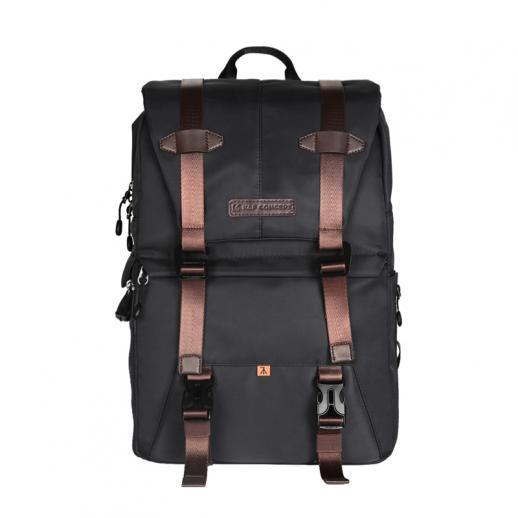 Plecak na aparat fotograficzny K&F Concept DSLR, rozmiar L, czarny