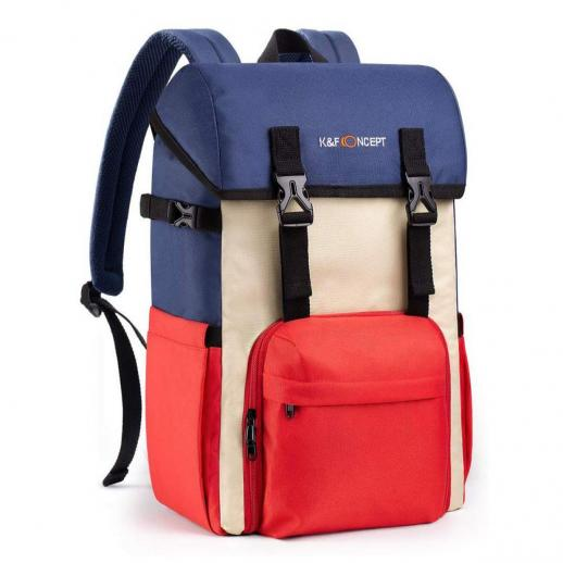 Nowy produkt: Wodoodporny plecak na aparat DSLR Wielofunkcyjny plecak na aparat, lustrzankę, obiektyw i akcesoria z osłoną przeciwdeszczową