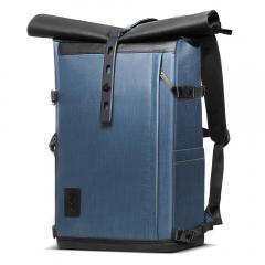 K&F Concept Sac à dos pour appareil photo étanche, 15,6 pouces Compartmen pour ordinateur portable, haute capacité, pour appareil photo reflex / reflex numérique
