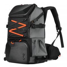 Pro Kamerarucksack Große Fototasche mit Stativhalter Wasserdichter Regenschutz für Reisen & Wandern