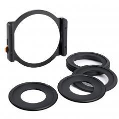 TT100 Square Filter Metal Holder + 8pcs Adapter Rings For DSLR