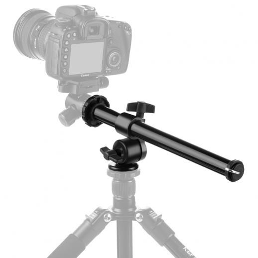 Colonne centrale multi-angle rotative pour alliage de magnésium et système de verrouillage pour trépied d'appareil photo