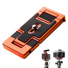 K&F Arca Swiss Quick Release Plate for Camera and Smartphone