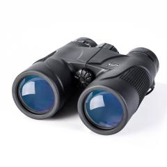 K&F Concept Jumelles 10X42 HD Binoculaire Prismes en Toit idéal pour Golf, Chasse, Pêche, Camping, Randonnee, Escalade, Observation des Oiseaux Antichoc Noir avec Sacoche de Transport