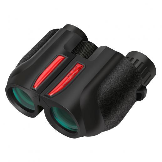 K&F MT1225 12 * 25 Binoculares compactos para adultos y niños, enfoque fácil de alta potencia para observación de aves, caza al aire libre, viajes, turismo