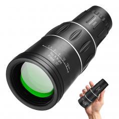 Monoculare 16x52 con supporto per telefono e treppiede per viaggi di caccia di birdwatching