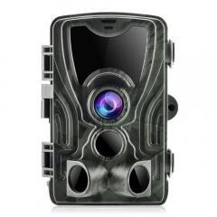 K&F HC-801A 16MP / déclencheur de 0,5 seconde / 3 PIR HD caméra de vision nocturne infrarouge de chasse étanche à l'extérieur