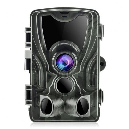 K&F HC-801A 16MP / 0,5 seconden trigger / 3 PIR HD Outdoor waterdichte jacht infrarood nachtzichtcamera