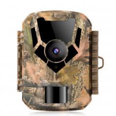 Kamera Myśliwska 0.4 Sekundy Trigger HD Outdoor Wodoodporna polowanie Mini kamera na podczerwień Night Vision