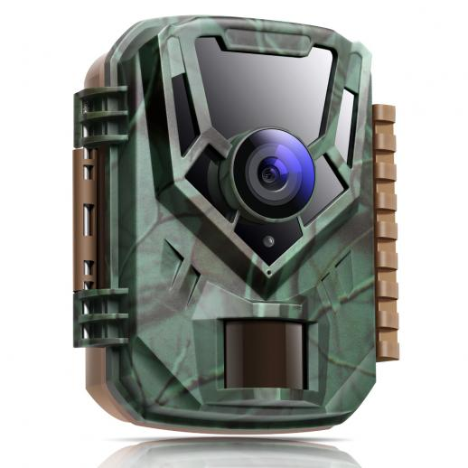 mini game camera 12MP 1080P waterproof according to IP65 850nm Visible light Night vision camera for observation of wild animals and home surveillance with