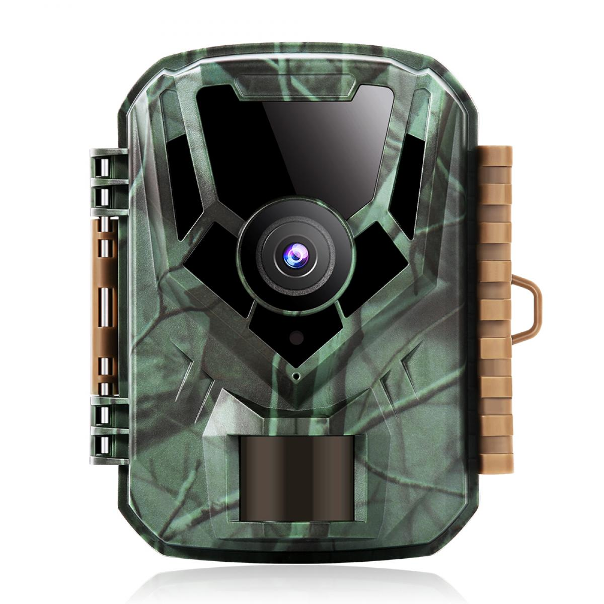 """Wildlife Camera,1080P Night Vision Up to 66ft, 2.0"""" Color LCD , Design for Wildlife Observation/Garden Home Security"""