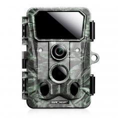 4K 30MP Trail Camera WiFi 120 ° KąTowa Kamera Do Gier 0.3s Wyzwalaj WyraźNE Widzenie W Nocy, Z 850nm 36 śWiatłAmi Podczerwonymi 65 Stóp, ip65 Wodoodporna Kamera Wildlife