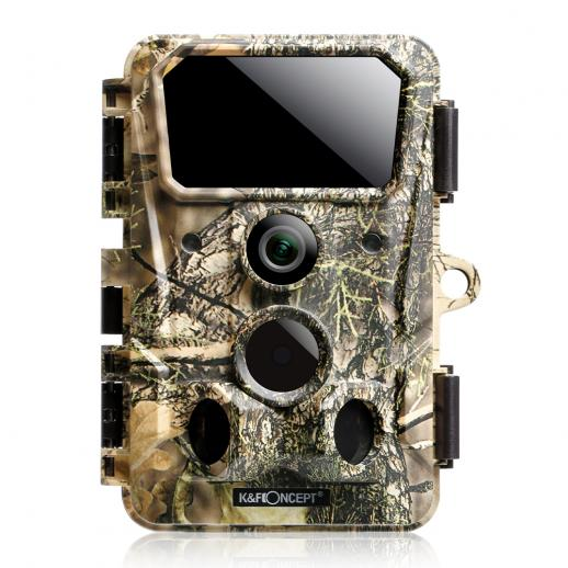 4K 36MP/0.2s Trigger Wifi Bluetooth Hunting Camera con LED Invisibili con Visione Notturna Trappola Fotografica Impermeabile IP66