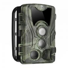 4K WiFi 30MP avec LED infrarouge 940nm sans vision nocturne lumineuse Plage de détection 3PIR 120° HD extérieure IP66 étanche chasse caméra de vision nocturne infrarouge