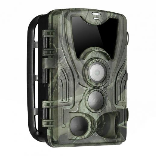4K WiFi 30MP Wildlife Camera with 940nm infrared LED without Light Night Vision,120°Wide-Angle