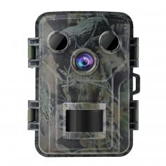 """Wildlife Camera Mini 20MP 1080P Night Vision Waterproof Hunting Camera With 120° Motion Advanced Sensor View 0.2s Trigger Time 2.0"""" LCD Screen"""