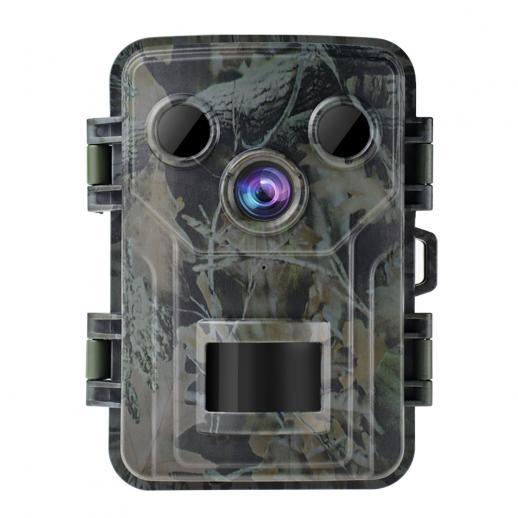 M1 Mini off-Road Spelkamera 20MP 1080P, Vattensäker Vattentät Jaktkamera Med 120 ° Vidvinkelrörelse Avancerad Sensorvy 0,2 Sekunders Utlösningstid 2,0 Tums LCD För Vilda Djurövervakning
