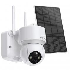 Solarbetriebene 1080P Wireless Outdoor IP-Überwachungskamera mit Listen-in Audio und Farbe Nachtsicht