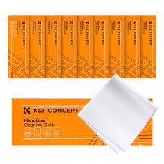 K&F Panni per la pulizia senza polvere 15 * 15 cm, confezione da 10 pezzi