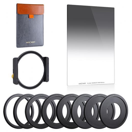 K&F SJ51T GND8 + metalen vierkante filterhouderset