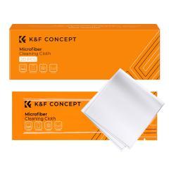 Chiffon de nettoyage en microfibre blanc sans poussière pour verre, lentilles, téléphones, écrans 15*15 cm Paquet de 20