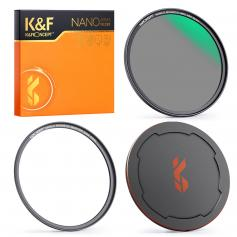 62mm ND8 Magnetic Lens Filter, HD Waterproof Scratch-Resistant Anti-Reflection, Nano-X Series