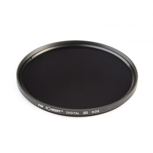 Zestaw filtrów 55 mm (ND2, ND4, ND8)