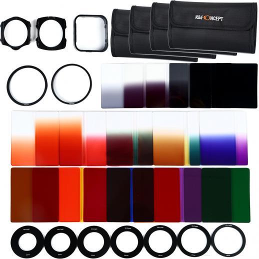 und Außengewinde grün für 40,5mm Objektivgewinde Kamera Farbfilter mit Innen