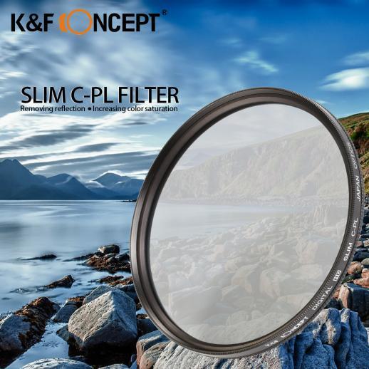 77mm Filtro Polarizador Circular