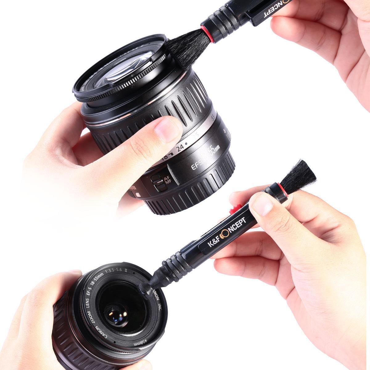 3in1 DSLR Camera Cleaning Kit (Lens Dust Blower Cleaner + Cleaning Pen + Macrofiber Cleaning Cloth)