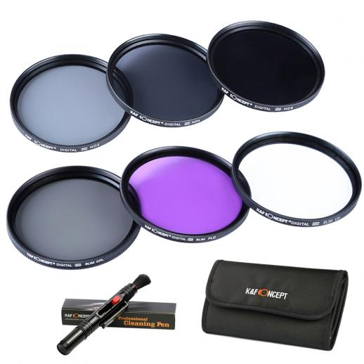37mm Filtro Kit UV, CPL, FLD, ND2, ND4, ND8