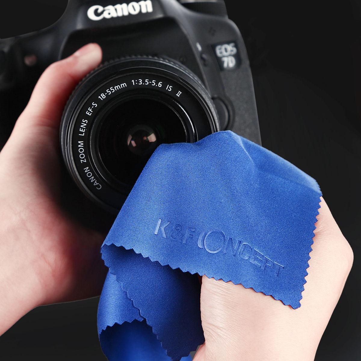 7in1 DSLR-reinigingsset voor camera (reinigingspen + luchtblazer + schoonmaakdoekje + lensreinigingsdoekje + sproeiflacon + droge doekjes + borstel)