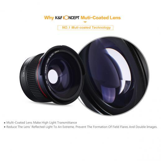 58mm 0 35x Hd Fisheye Objektiv